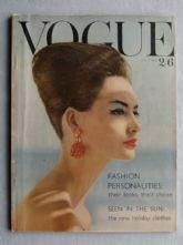 Vogue Magazine - 1960 - July